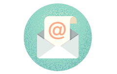 Email message icon.